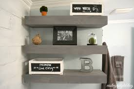 diy office shelves. Diy Floating Shelves Shanty Chic Wilko Office Shelf Organizer Counter Top Toilet Storage Hanging Cabinet Chrome