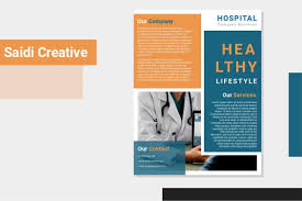 Hospital Flyer Template Free Download On Word File Saidi