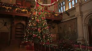 Biltmore's Annual Christmas Tree Raising Celebration - YouTube