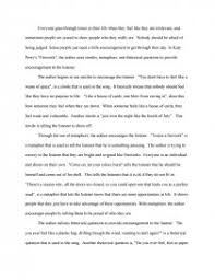 interpretive essay essay zoom zoom