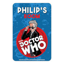 Twelfth Doctor Personalised Door Plaque – Doctor Who