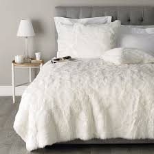 beautiful faux fur bedding queen size 79 in luxury duvet covers with faux fur bedding queen size