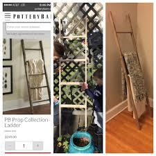 Diy Blanket Ladder Diy Blanket Ladder Pinteresting Plans