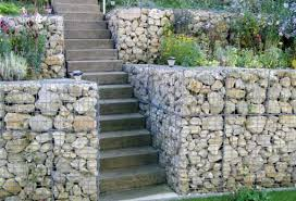 Small Picture Gabion retaining walls Stone wall ideas Gabion1 USA