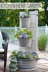 outdoor herb garden. Garden Design With DIY Backyard Kitchen Herb Finding Home Farms Landscape Ideas Rocks Outdoor