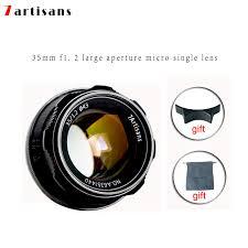 <b>7artisans 35mm F1</b>.<b>2</b> Prime Lens for Sony E mount / / for Fuji XF ...