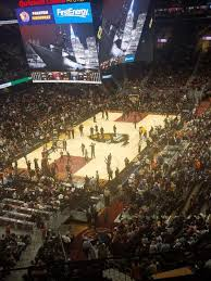 Rocket Mortgage Fieldhouse Section 215 Home Of Cleveland
