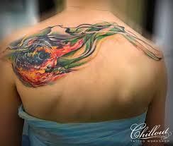 Built With Gmediagallery татуировка космос графика татуировка