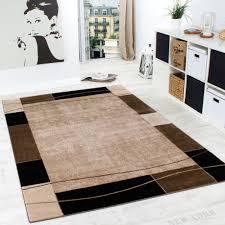 brown living room rugs. Designer Rug Living Room Modern Border In Brown Beige Unbeatable Deal Rugs E