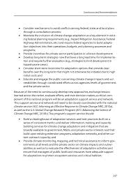conclusions and recommendations adapting to the impacts of  page 227