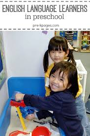 working with english age learners in preschool and kindergarten