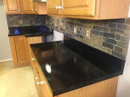 black countertop refinishing