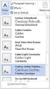 Word 2013 Themes Changing Your Style In The New Word Microsoft 365 Blog