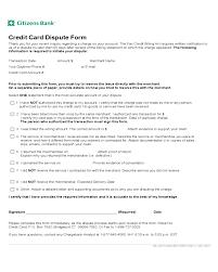 Credit Card Dispute Form Citizens Bank Edit Fill Sign