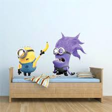 minion wall stickers minion wall decals minion wallpaper is the easiest way to kids room decor