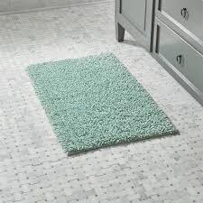 loop seafoam green bath rug crate and barrel seafoam green carpet