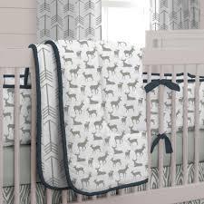 woodland crib bedding model