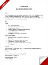 Entry Level Medical Assistant Cover Letter Cool Entry Level Medical Assistant Resume With No Experience Resume