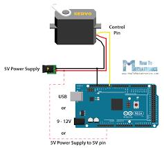 how servo motors work how to control servos using arduino servo motor circuit arduino arduino