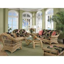 white indoor sunroom furniture. Furniture, Rattan Glass Table With Chair Using Black Floral Pattern Seat Palm Tree Placed On White Indoor Sunroom Furniture D