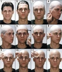 bald head wig cap soft latex flesh skin uni rubber skinhead costume