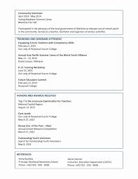 Resume Topics Reference Volunteer Work Resume Example Best Beautiful