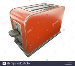 Retro Toasters kitchen cuisine electric retro toasters toaster homey domestic red 8586 by xevi.us