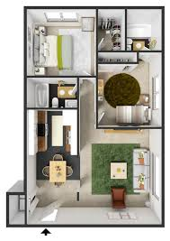 Two Bedroom Apartments Portland Oregon Style Plans