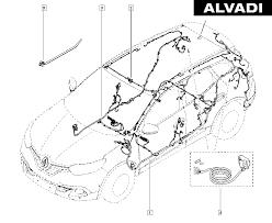 Renault electrical wiring harness renault renault kadjar