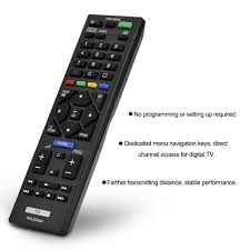 sony smart tv remote. compatible remote control rm-ed054 rmed054 replacement for sony lcd led smart tv sony tv