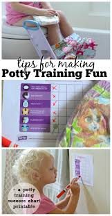 Looking To Make Potty Training Fun Tips Free Printable