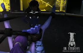 IKstudios Overwatch Series Black Widow Dva