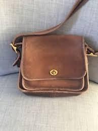 ... Vintage-Coach-9061-RAMBLERS-LEGACY-Brown-Leather-Turn-