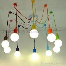 childrens pendant lighting. E27 Spider Colored Pendant Lighting Children\u0027S Room Bedroom Decorated Restaurant Cafe Clothing Store Lamps Ysl1823 Contemporary Ceiling Lights Light Childrens DHgate.com
