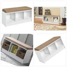 storage cube bench closetmaid 1569 cubeicals 3 cube storage bench white better homes and garden 4