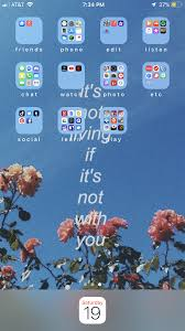 aesthetic home screen phone wallpaper ...