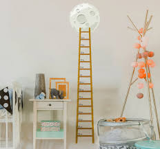 Ladder Height Chart Ladder To The Moon Height Chart Decal