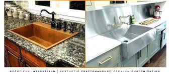 drop in sinks for granite countertops undermount granite kitchen sinks