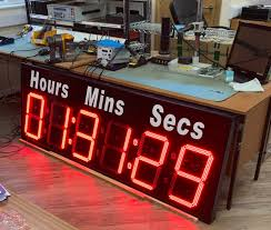 large digit clocks and timers for exams