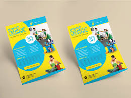 Cleaning Brochure Cleaning Services Flyer Template On Wacom Gallery