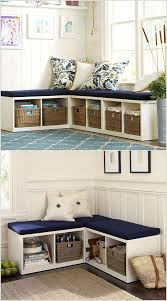 10 Clever Corner Storage Ideas for Your Home Let a Corner Double Duty in  The Form of a Bench with Seating and Storage