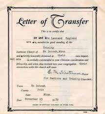 Transfer Request Letter Ideas Transfer Certificate Letter Format For