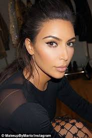 kim kardashian dyes her eyebrows dark again after bleaching them a honey blonde for met gala