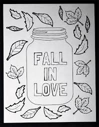 Small Picture Mason Jar Coloring Page Free Printable The Country Chic Cottage
