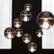 glass ball pendant lighting. G4 LED Crystal Glass Ball Pendant Lamp Meteor Rain Ceiling Light Meteoric  Shower Stair Bar Droplight Glass Ball Pendant Lighting D
