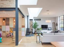 Dulwich Interior Design Tactile House By Thomas And Spiers Architects A Split Level