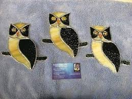 stained glass owls owl suncatcher patterns