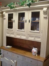 Glazed Kitchen Cupboard Doors Prague Style Three Door Dresser With Glazed Doors And Drawers