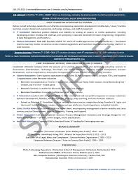 Executive Resume Sample Chief Technology Officer Executive Resume