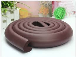 table edge guard. various colours 2metres cushion baby table edge guard protector+4 corners,tape .